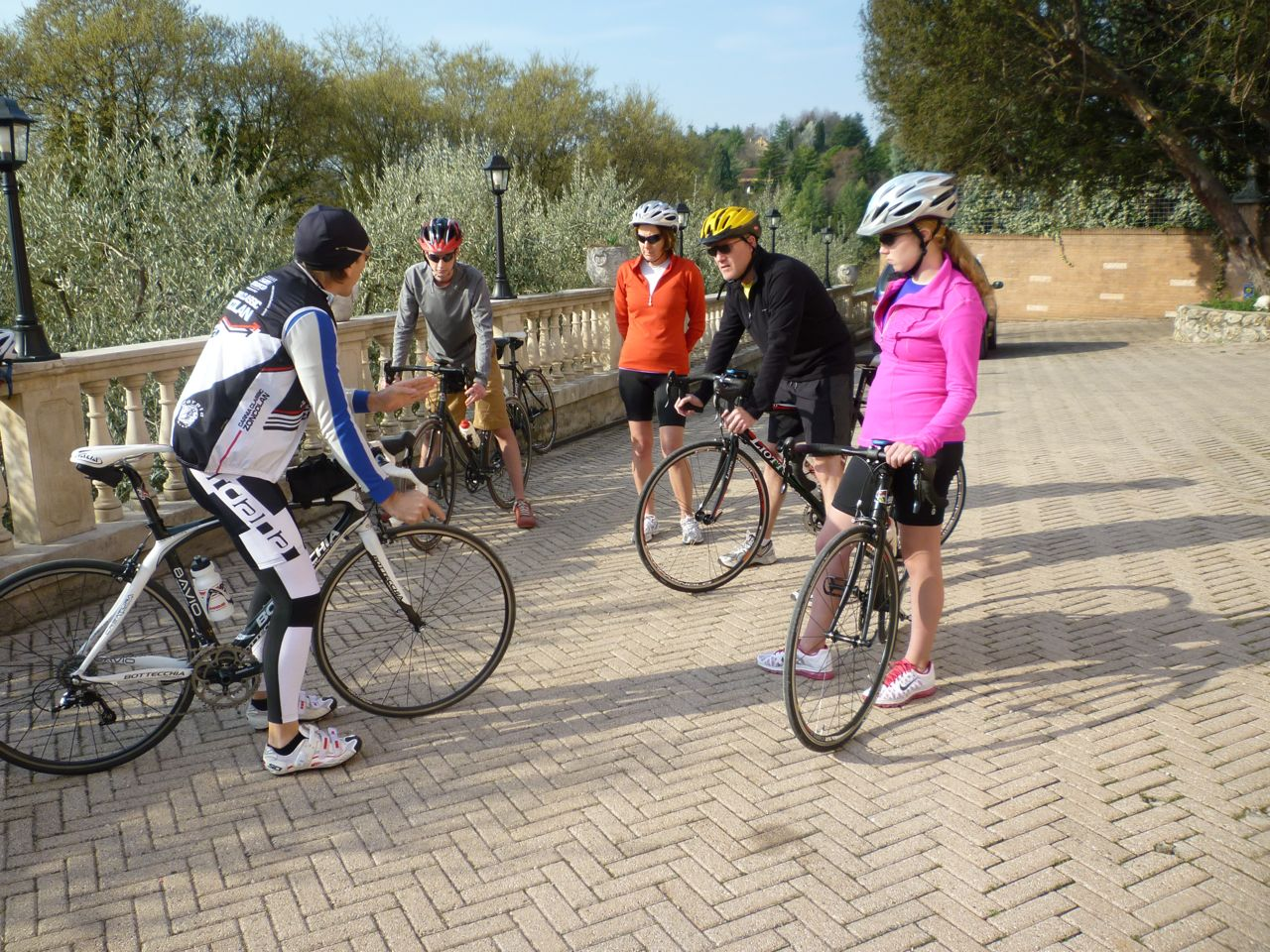 daily riding clinic custom bike tours italy