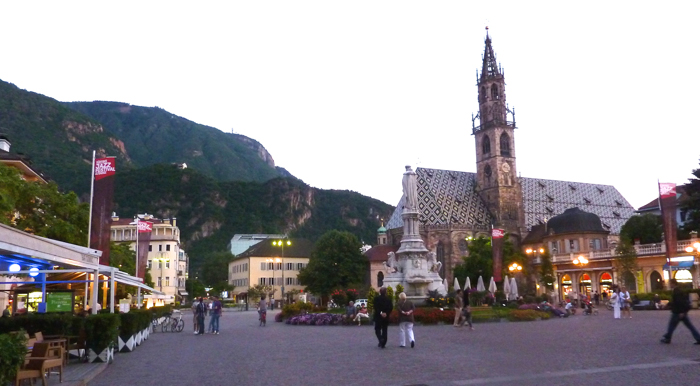 piazza walthur bolzano italy private tours