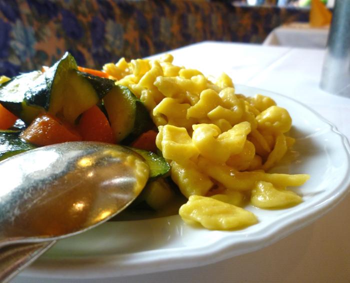 spaetzle regional cuisine dolomites