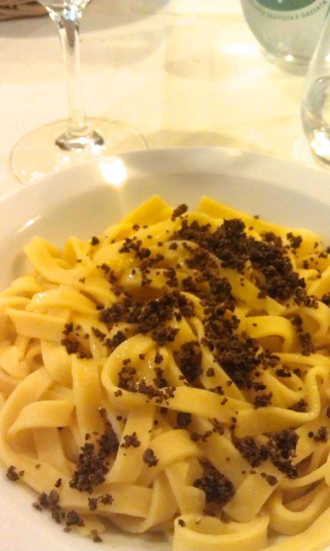 fettucine con tartufo regional cuisine verona
