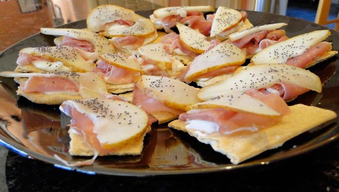 san daniele pear crostini culinary tours italy