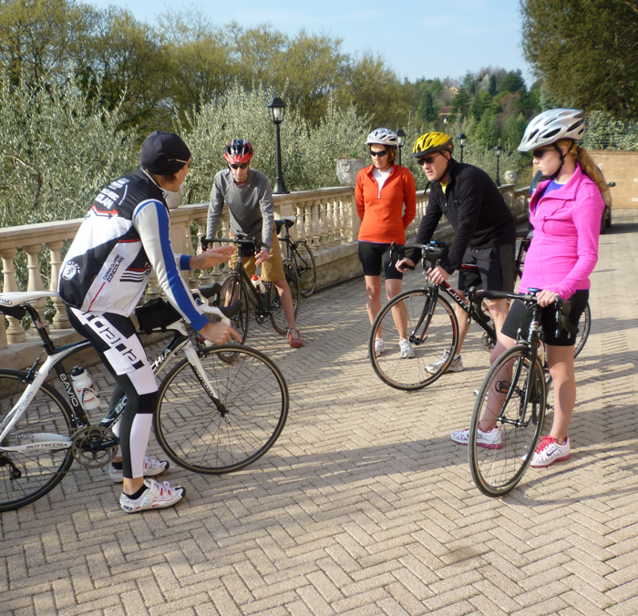 cycling clinics on bike tours