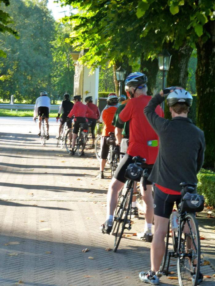chefs on bikes tour italy