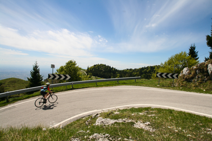monte grappa bike tour dolomites