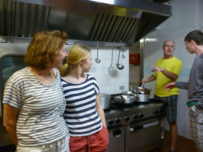 cooking class villa italy