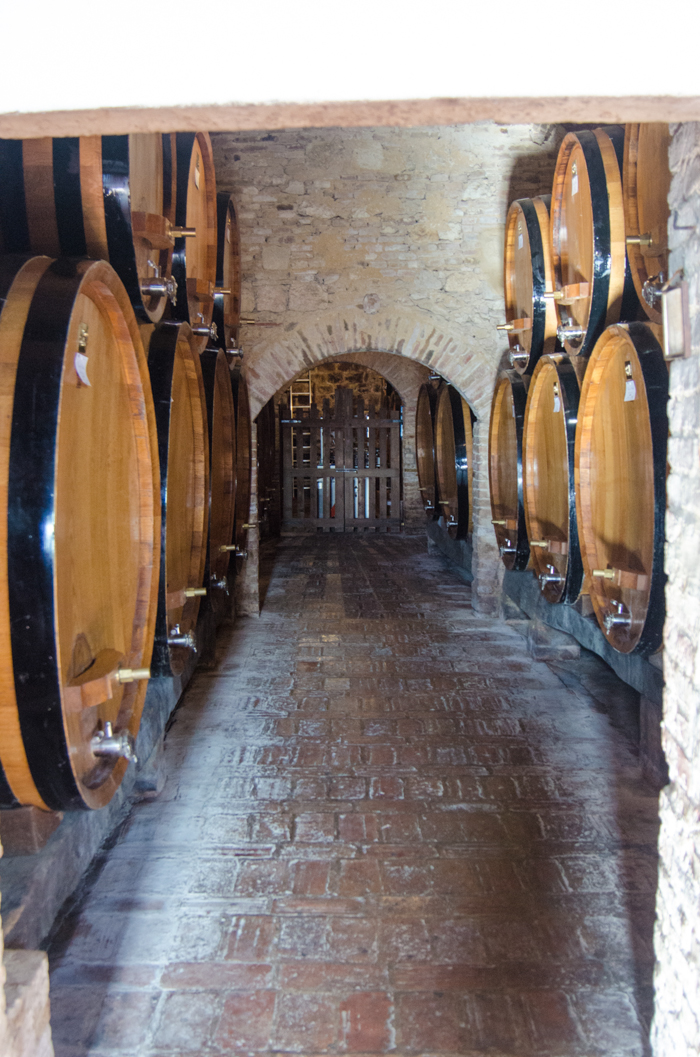 aging room walking tours tuscany