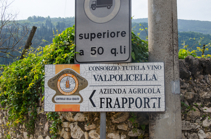 valpolicella winery sign private italy tours