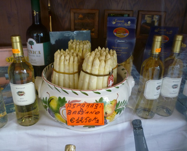 white asparagus private bike tours italy